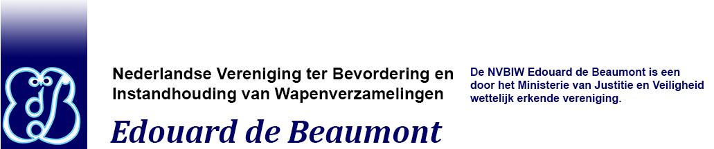 NVBIW Edouard de Beaumont